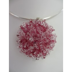 """Flat pendent """"Collection snowflake"""