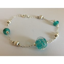 "Bracelet sea green ""oxygene"" collection"