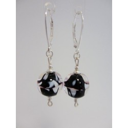 "Earrings black ""Louise collection"""