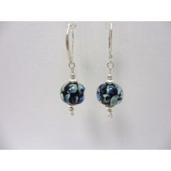 "Boucles d'oreilles bleu collection ""Louise"""