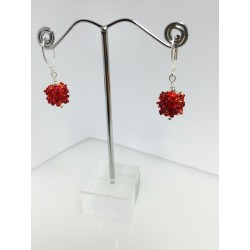 """Earrings """"snow flake collection"""""""