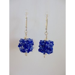 "Earrings ""snow flake collection"""