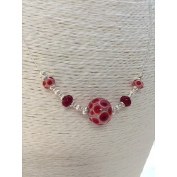 "Necklace Red ""Elise collection"""