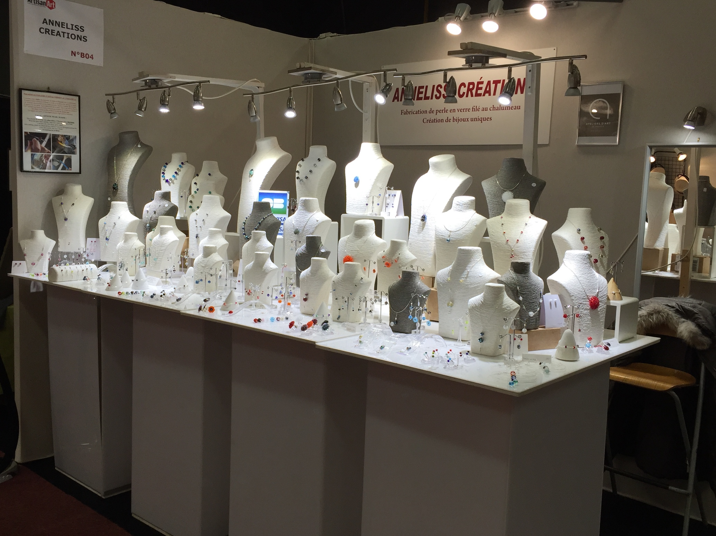 Stand exposition salons